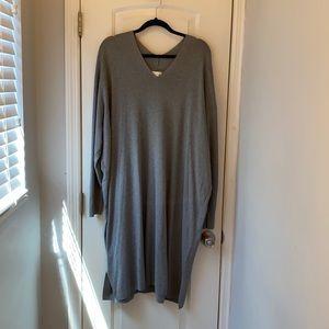 H&M Gray sweater Dress